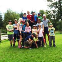 Gruppenfoto der Ferienprogrammkinder
